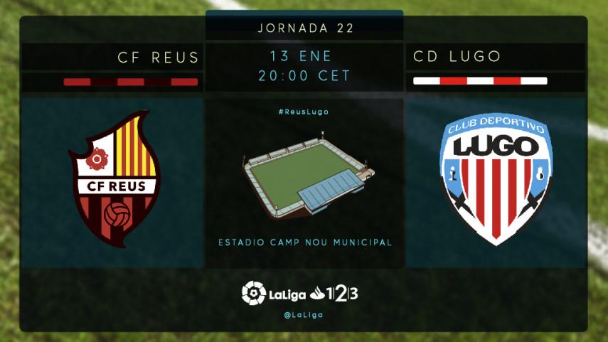 Reus y Lugo buscan reengancharse a la zona de arriba