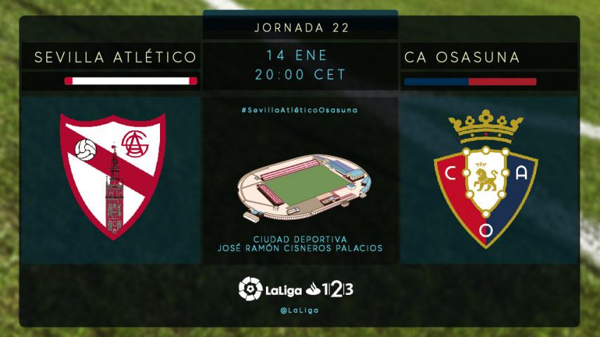 El Sevilla Atlético busca seguir en la buena línea