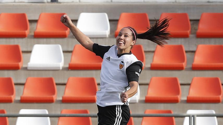 Mari Paz guía al Valencia a la victoria
