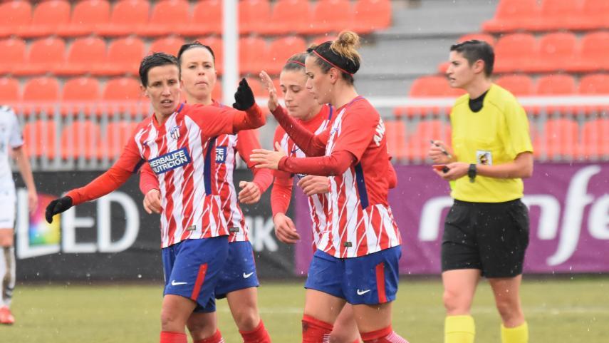 El Atlético gana ante un luchador Albacete