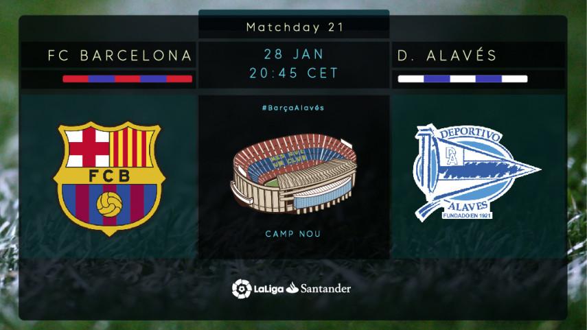 Abelardo out to snap Barcelona's unbeaten run