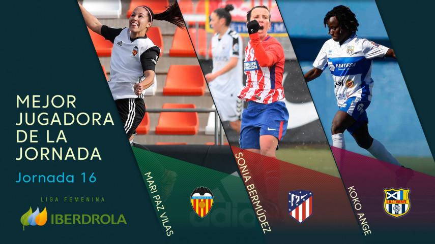 ¿Quién fue la mejor jugadora de la jornada 16 de la Liga Femenina Iberdrola?