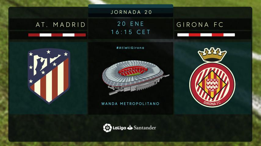 El Wanda Metropolitano recibe a uno de los equipos revelación de LaLiga Santander