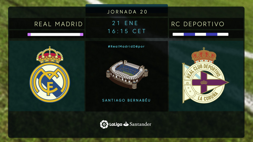Real Madrid y Deportivo, en busca de su mejor versión