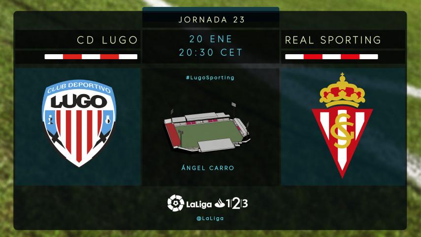 Lugo - Sporting: la promoción en juego
