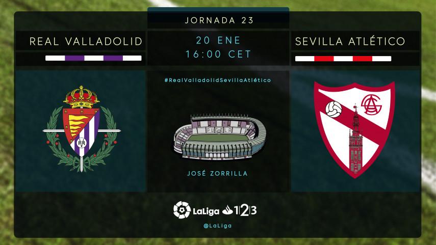 Valladolid y Sevilla Atlético buscan la regularidad