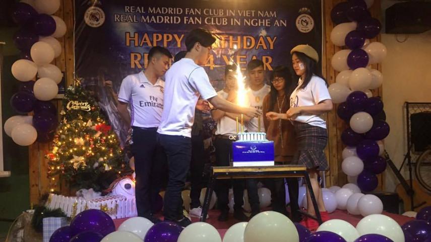 La fiebre madridista en Vietnam