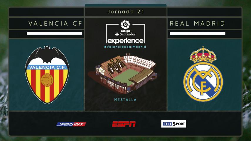 Valencia y el fútbol, el nexo de unión de aficionados de ESPN Sudamérica y SportsMax Caribe