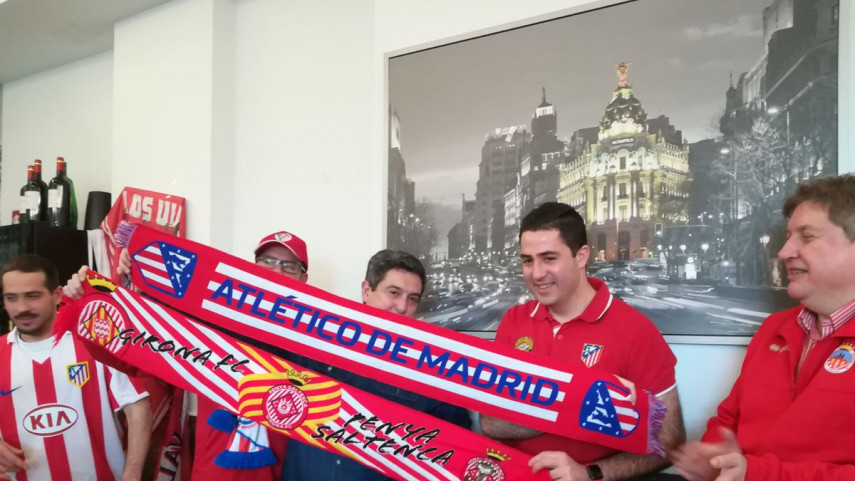 La unión entre Atlético y Girona