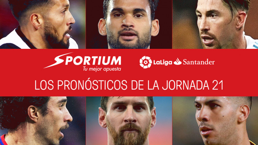 Las recomendaciones de Sportium para la jornada 21 de LaLiga Santander