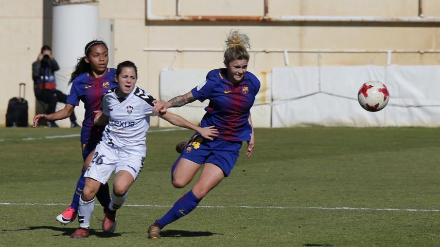 El FC Barcelona suma y sigue en la Liga Iberdrola