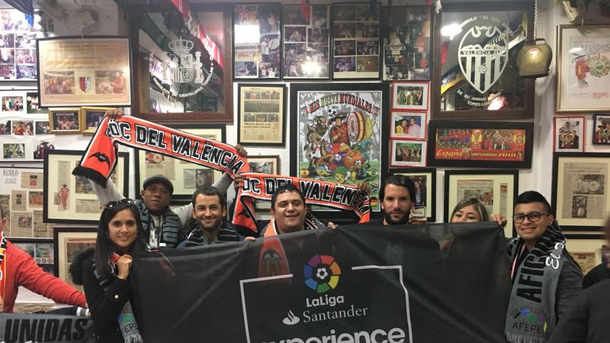 Aficiones Unidas y LaLiga Santander Experience comparten su pasión por el fútbol antes del Valencia CF – Real Madrid