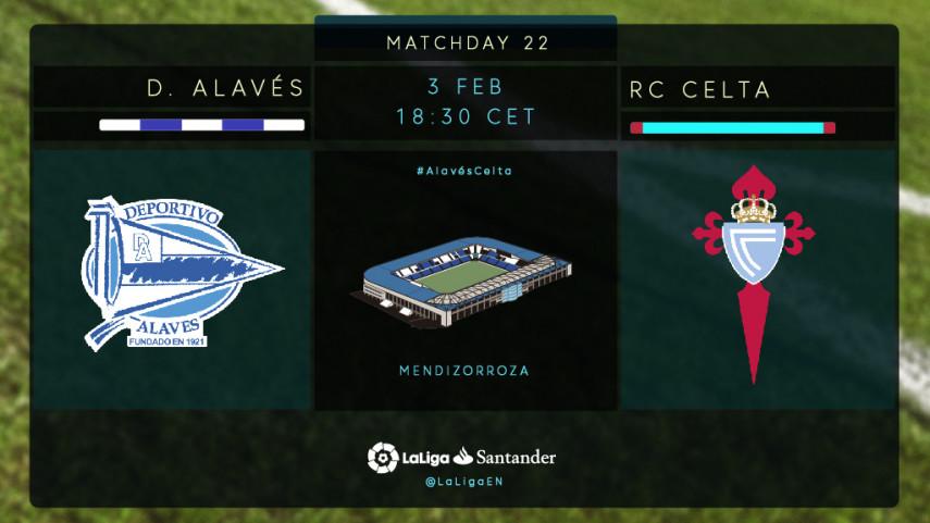 Alaves and Celta clash at Mendizorroza
