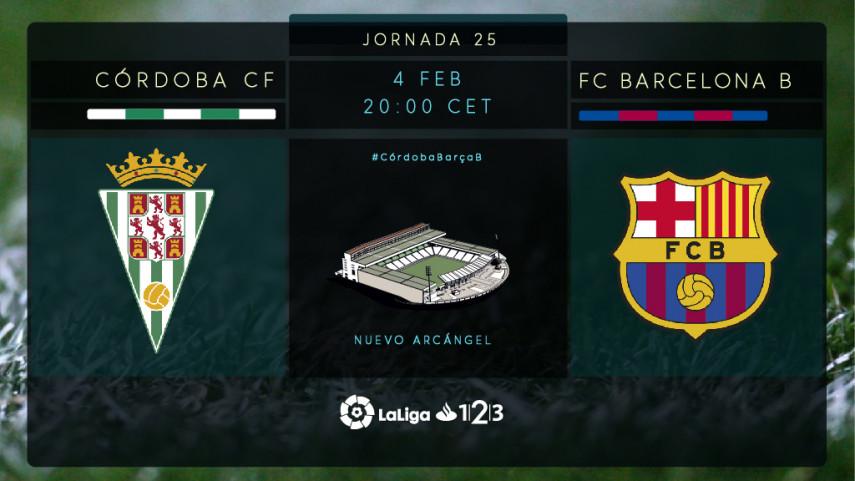 Tres puntos vitales para Córdoba y Barcelona B