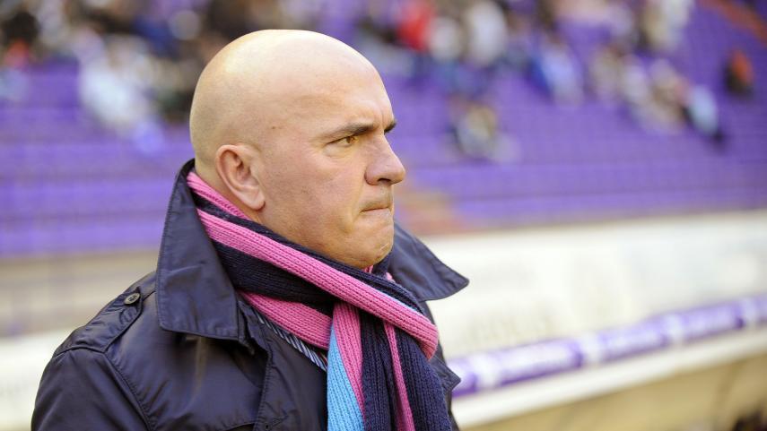 Luis César Sampedro deja de ser entrenador del R. Valladolid CF