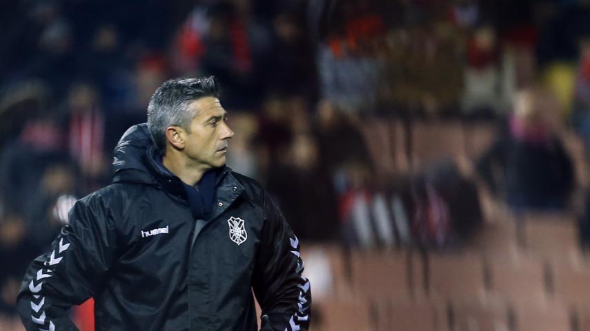 Pep Martí deja de ser entrenador del CD Tenerife