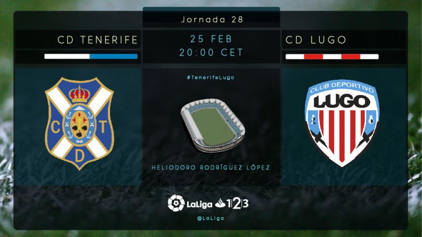 El play-off sigue a tiro para Tenerife y Lugo