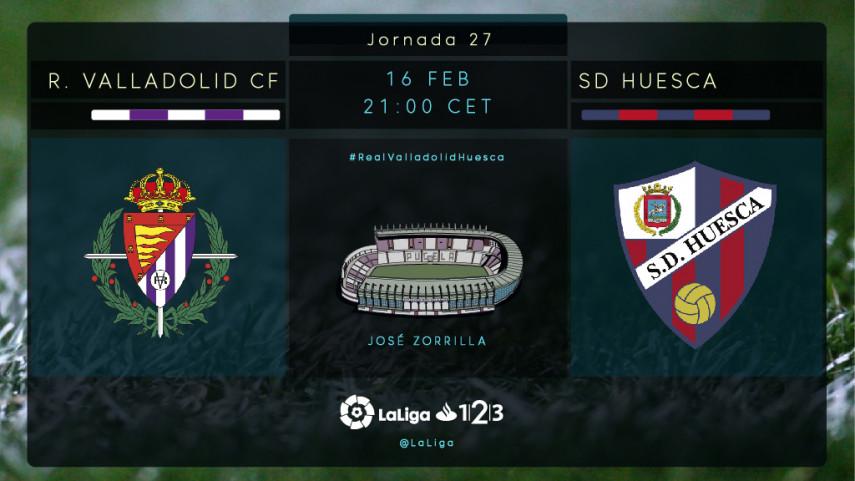 El R. Valladolid ante el reto de ganar al Huesca