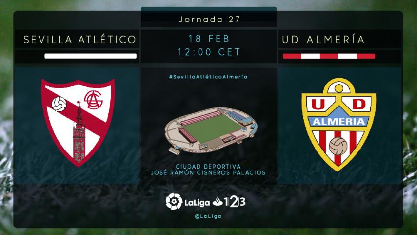 Sevilla Atlético y Almería quieren volver a la senda del triunfo