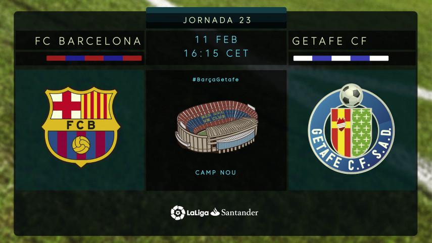 El Getafe, ante el reto de cambiar su historial en el Camp Nou