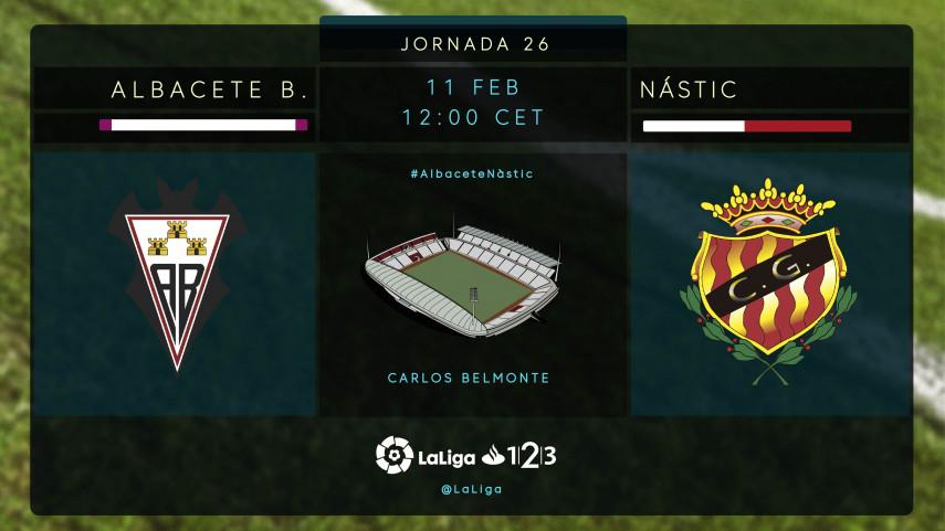 El Albacete B. recibe a un Nàstic necesitado