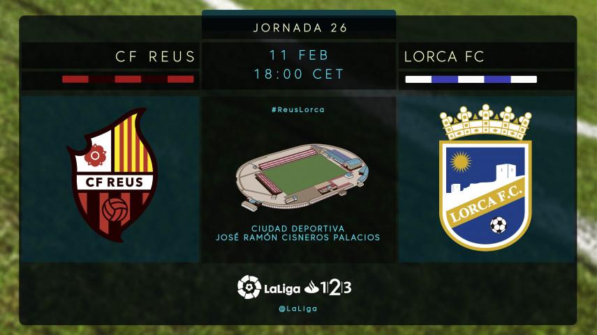 El Lorca busca un punto de inflexión ante el Reus