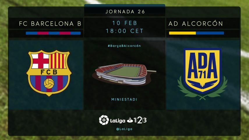 Ganar es una cuestión de tranquilidad para Barcelona B y Alcorcón