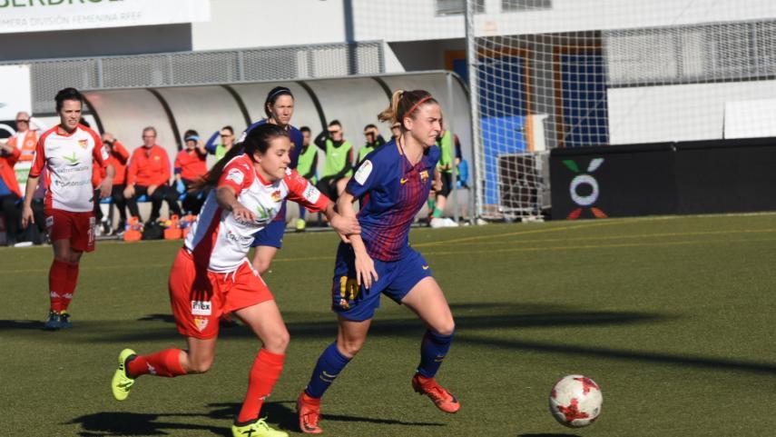 FC Barcelona keep their foot to the floor in the Liga Iberdrola
