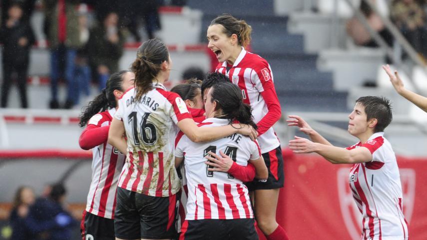 La fe del Athletic ante el At. Madrid Femenino tiene premio