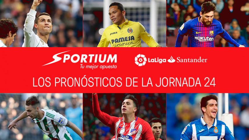 Las recomendaciones de Sportium para la jornada 24 de LaLiga Santander
