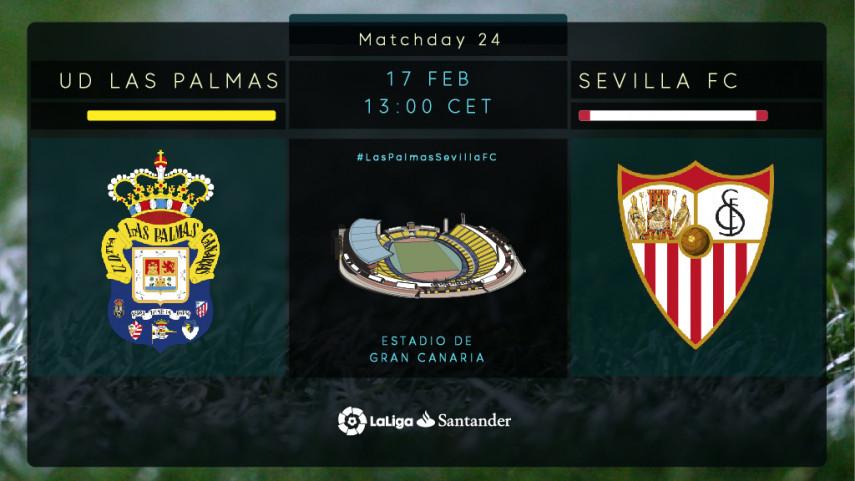 Resurgent Las Palmas welcome Sevilla to Gran Canaria