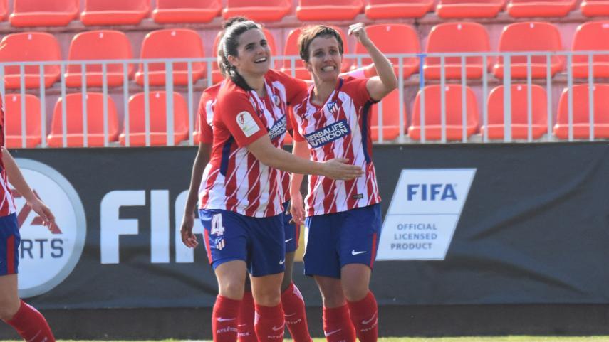 El At. Madrid Femenino, líder de la Liga Iberdrola tras derrotar al VCF Femenino