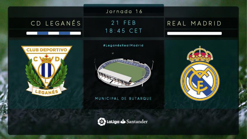 Prueba de fuego para el Real Madrid en Butarque