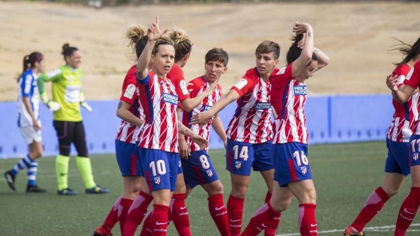 El At. Madrid Femenino asegura el liderato una jornada más