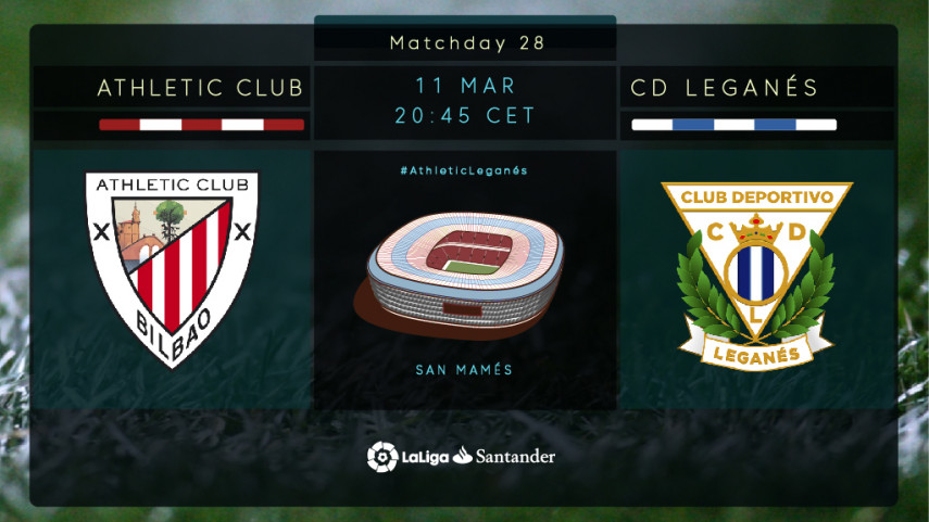 Leganes return to San Mames, a ground with happy memories