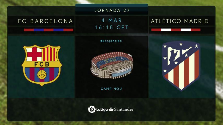 Partidazo en el Camp Nou con el título en juego