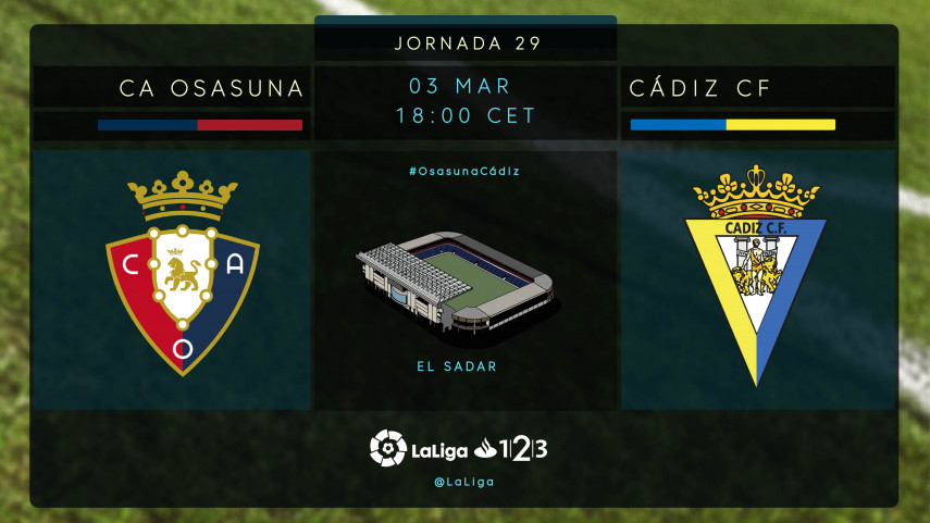 Osasuna y Cádiz quieren apostarlo todo al ascenso