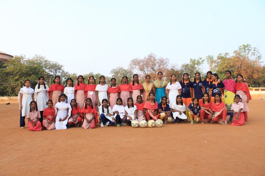 La Fundación de LaLiga y Fútbol Femenino colaboran con la Liga de Fútbol rural de Anantapur