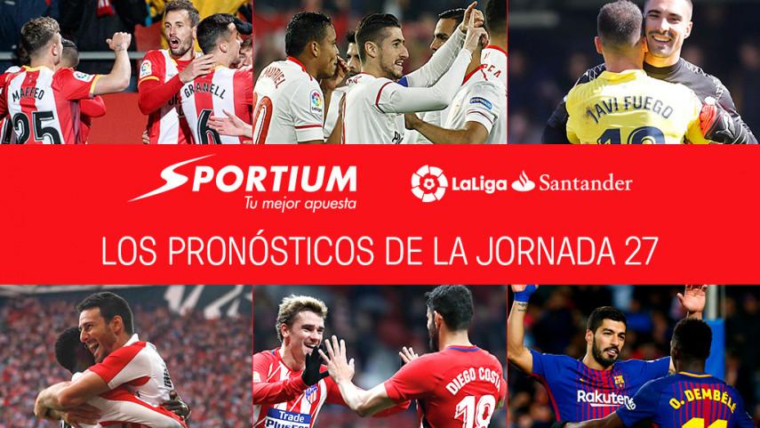 Las recomendaciones de Sportium para la jornada 27 de LaLiga Santander