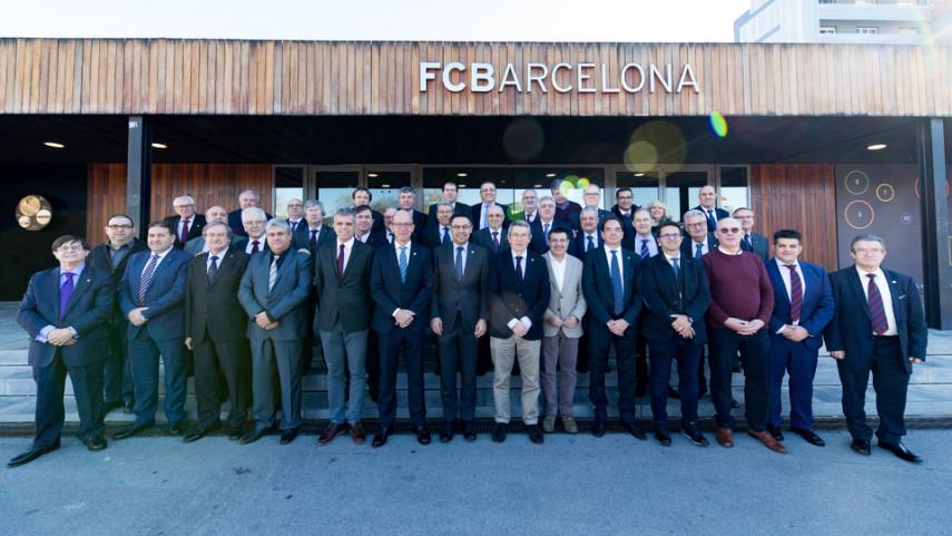 La Confederación Mundial de Peñas del Barça está de aniversario
