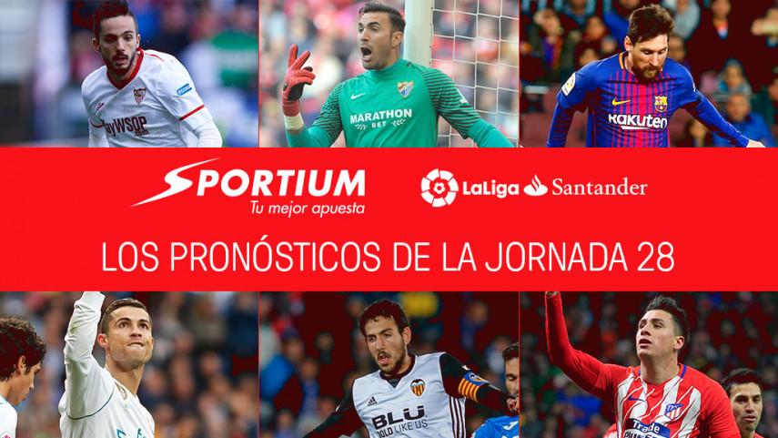 Las recomendaciones de Sportium para la jornada 28 de LaLiga Santander