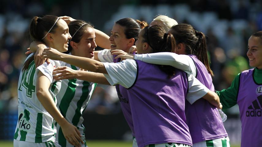 Triunfo histórico del R. Betis Féminas en el Villamarín