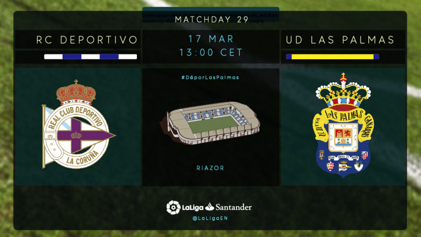Two teams in need clash at Riazor