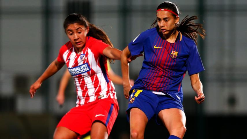 El At. Madrid Femenino se lleva un punto de Barcelona