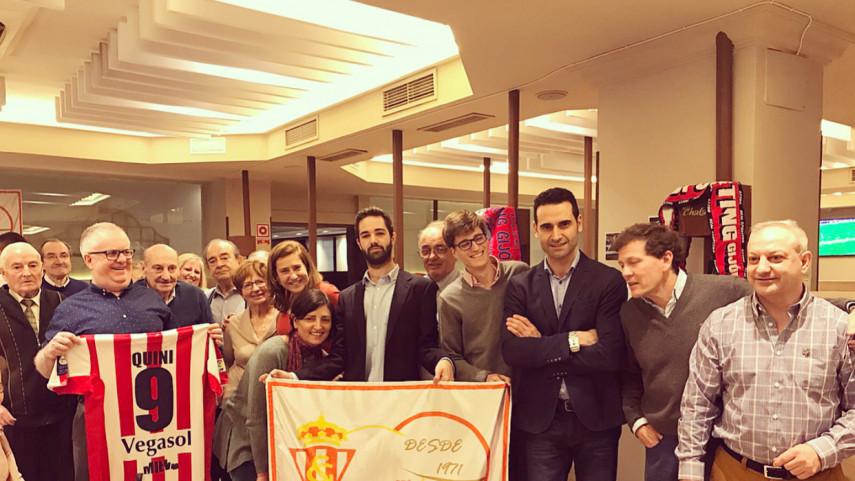 La Peña Real Sporting de Gijón Madrid celebra su 48 aniversario