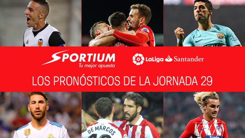 Las recomendaciones de Sportium para la jornada 29 de LaLiga Santander