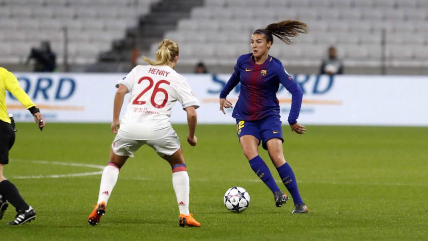 El FC Barcelona cae por la mínima en la ida de los cuartos de la UWCL