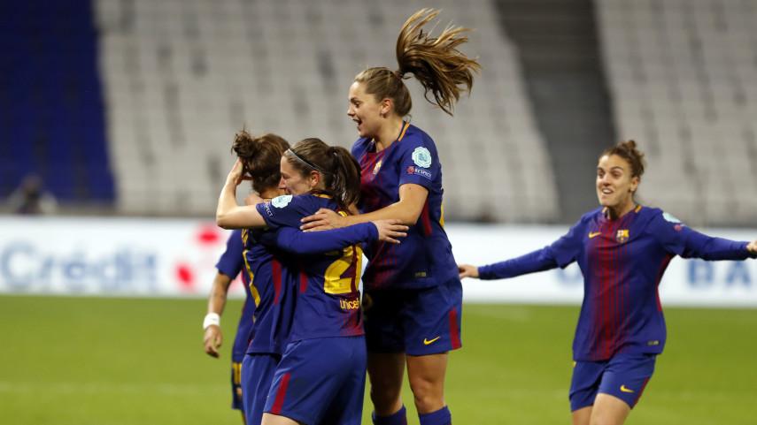 El FCB Femení quiere conseguir un pase histórico
