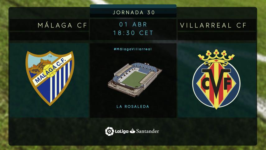 El Málaga no puede fallar