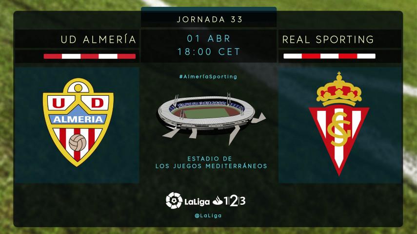 El R. Sporting mira a la cabeza de LaLiga 1|2|3